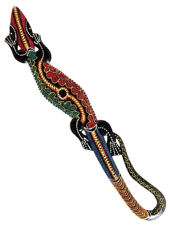 Lagarto Gecko 100cm p/ Paredes - Bali