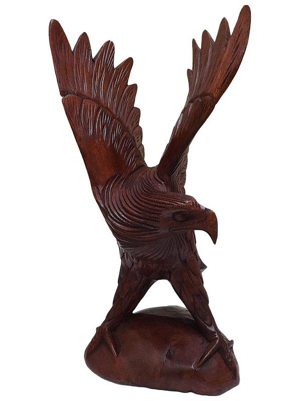 Escultura Realista Águia - Bali 30cm