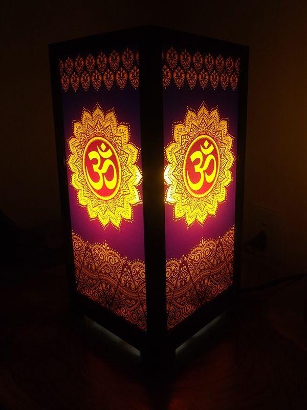 Luminária Mandala Ohm 30cm