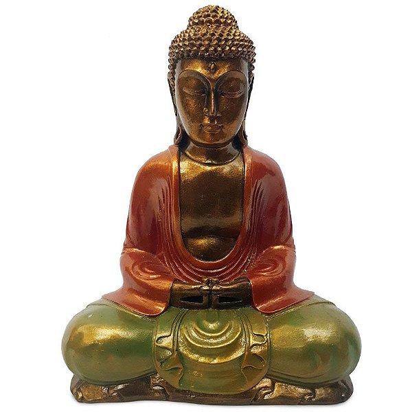 Escultura Buda 30cm - Bali