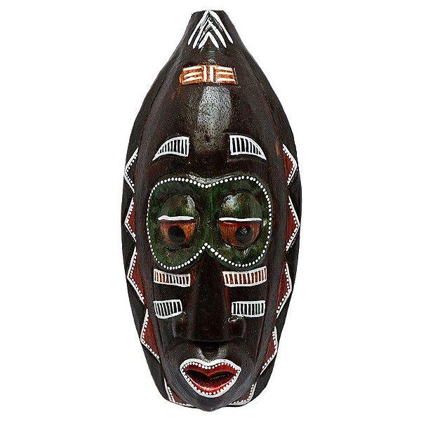 Máscara Africana Tepak 30cm