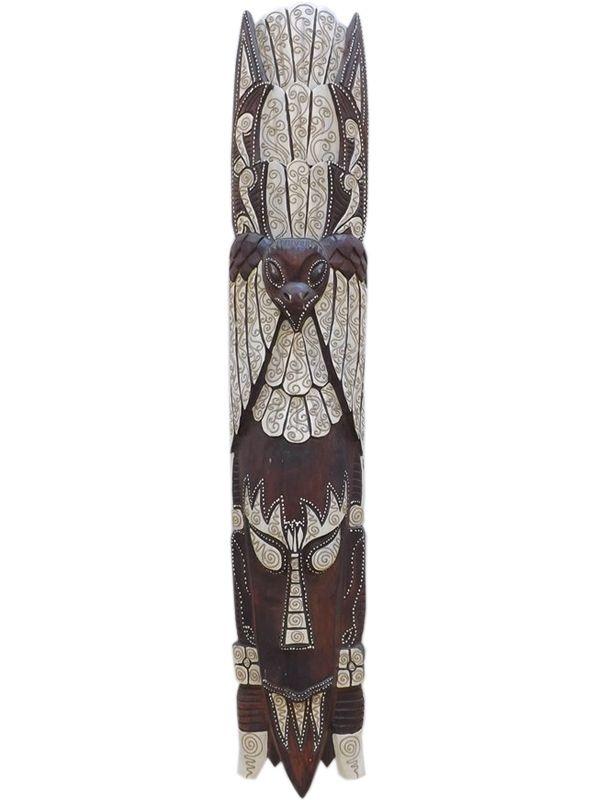 Máscara em Madeira 100cm - Arte Africana
