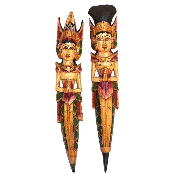 Casal Hindu Rama e Sita - Bali