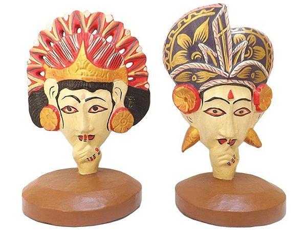 Esculturas do Casal Penapatã (Rama e Sita) 25cm