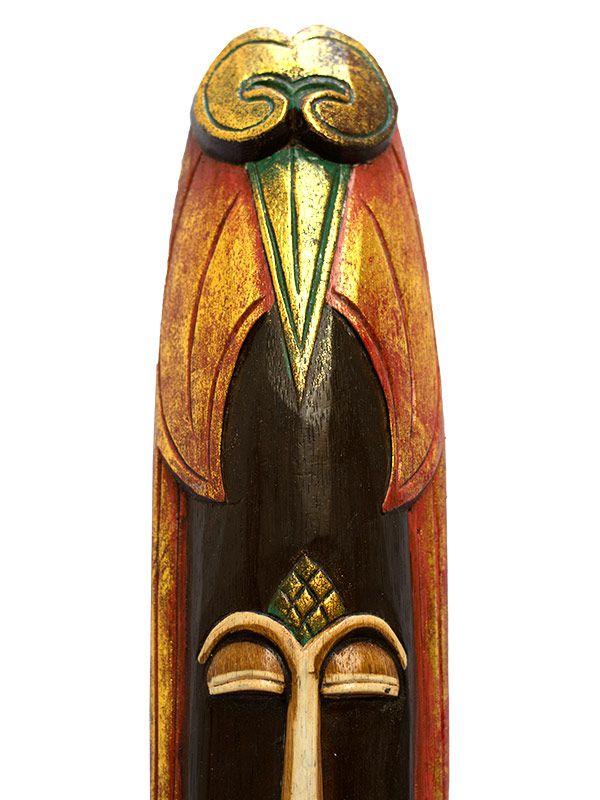 Máscara Bali em Madeira 50cm - Topeng
