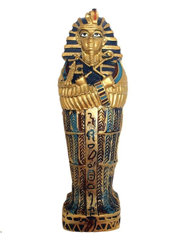 Tumba de Faraó Egípcio c/ Múmia 14cm