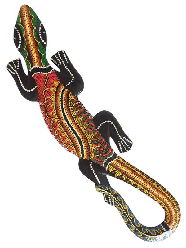Lagarto Gecko Colorido 60cm -  Bali