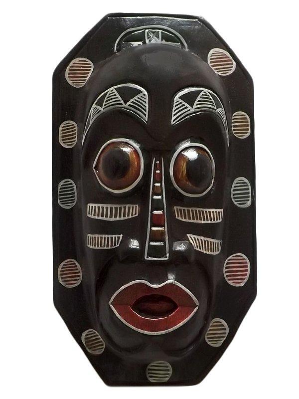 Máscara em Madeira Abayomi 30cm