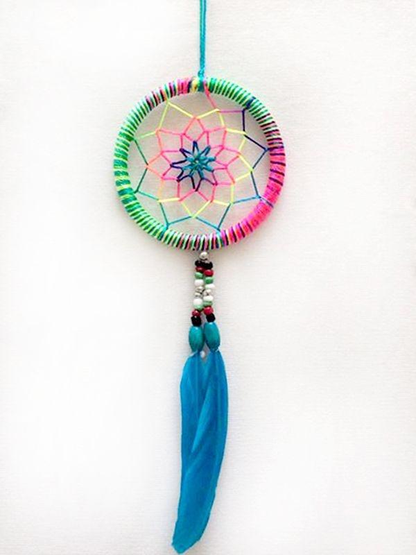 Apanhador de Sonhos (Dream Catcher) 18cm