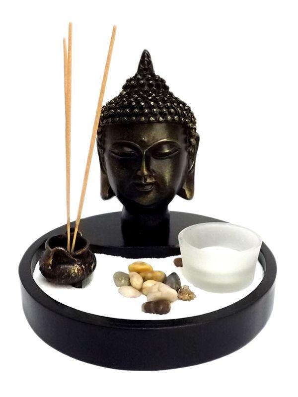Jardim Zen Budista c/ Incensário