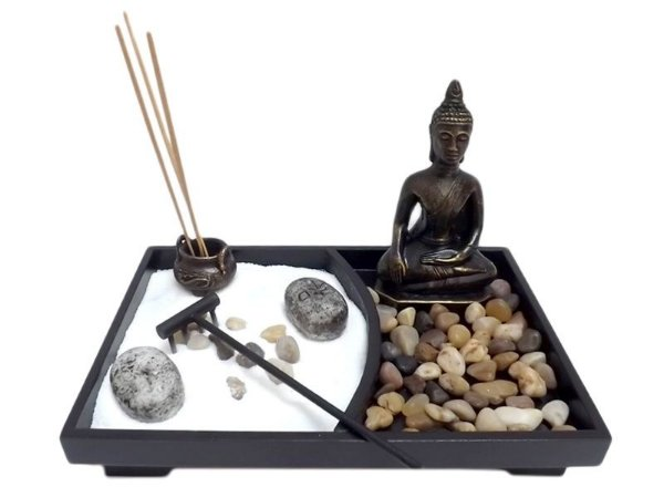 Jardim Japonês Meditação Buda Zen