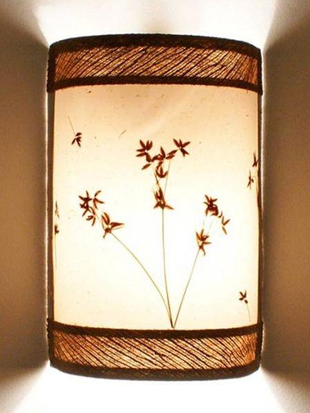 Arandela em Fibra de Coqueiro 27cm - Arte Rústica