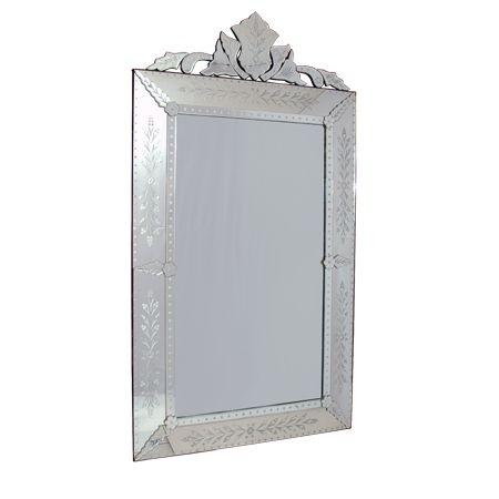 Espelho Veneziano Retangular 180x100cm