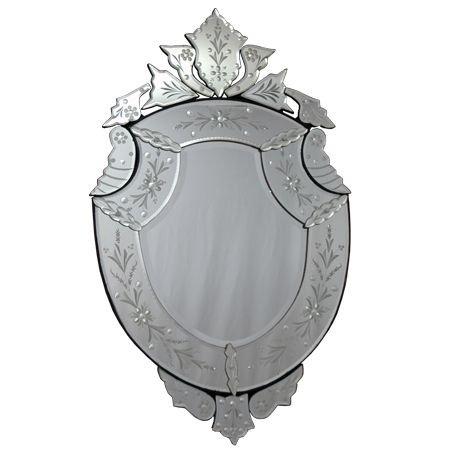 Espelho Vintage p/ Decoração 97x57cm
