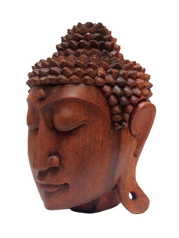 Cabeça de Buda 20cm - Bali