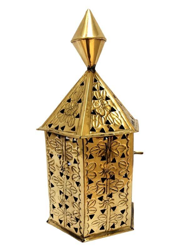 Lanterna Decorativa para Velas em Metal 26cm