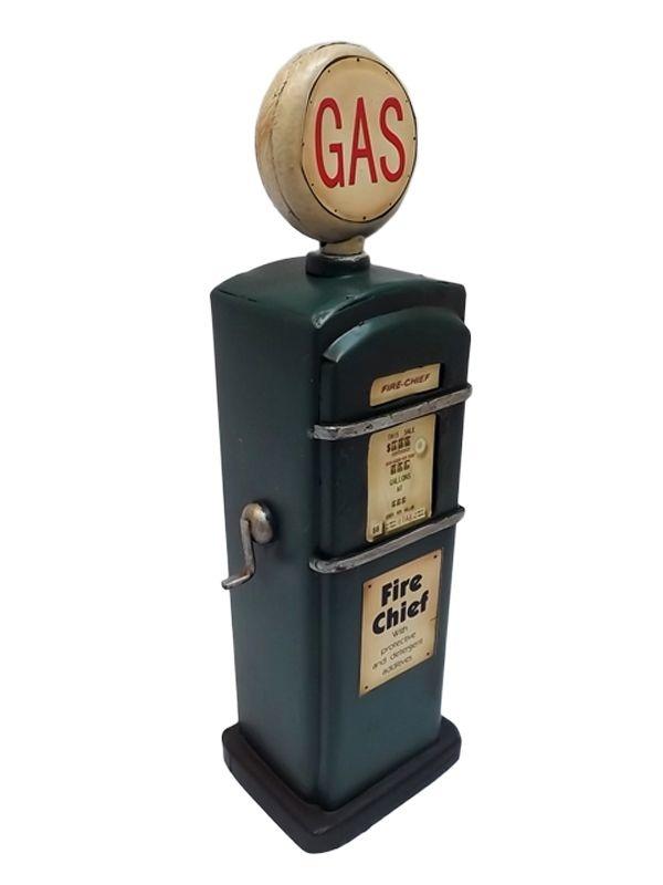 Miniatura de Bomba Gas em Metal 20cm