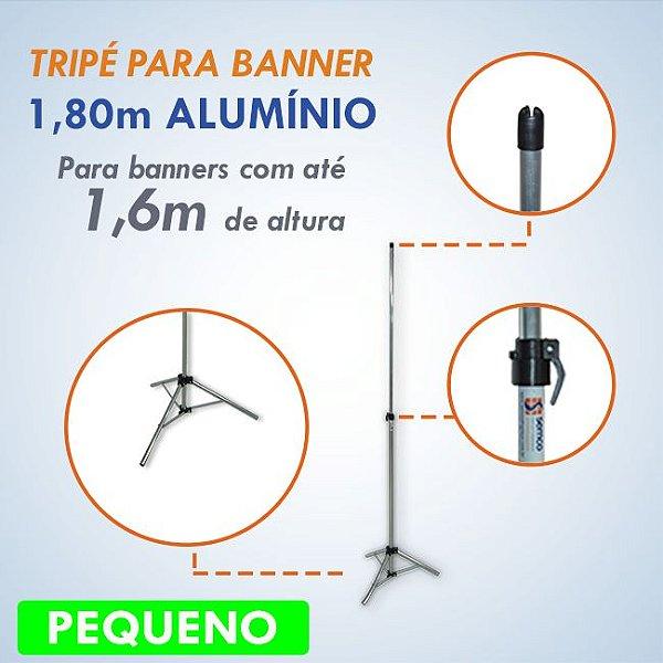Tripé para Banner 1,80m - PEQUENO