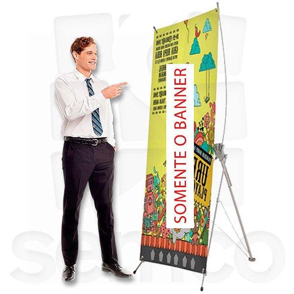 Banner 80 x 180 para X - Fibra