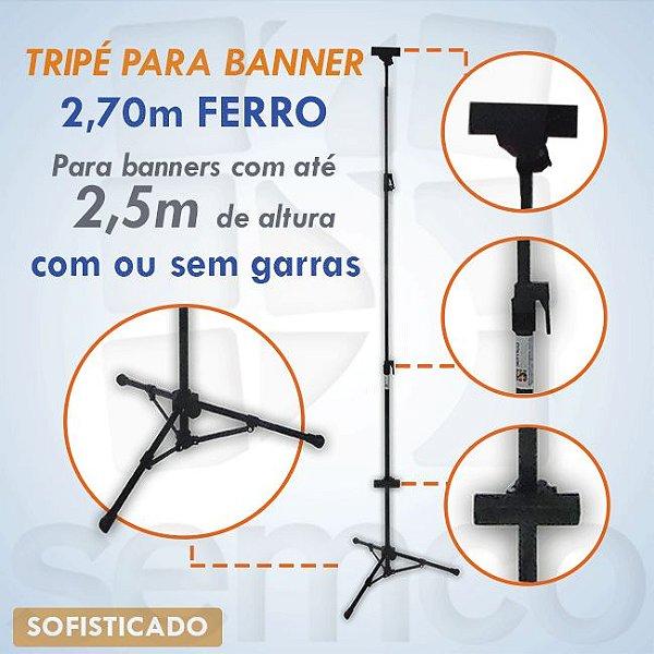 Tripé para Banner 2,70m - SOFISTICADO
