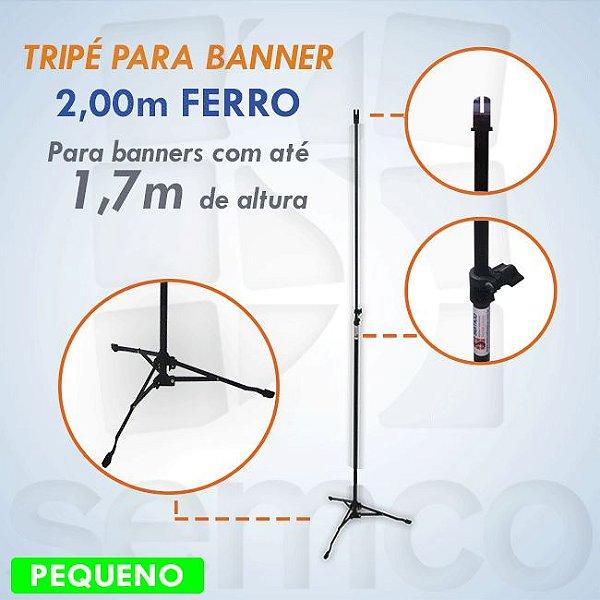 Tripé para Banner 2,00m - FERRO