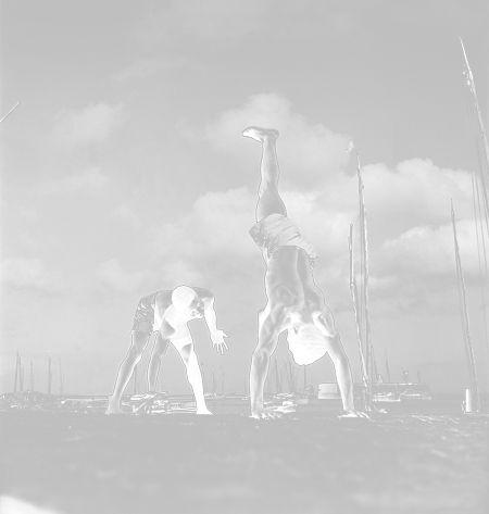 Ampliação fotográfica Pierre Verger 40x40 cm