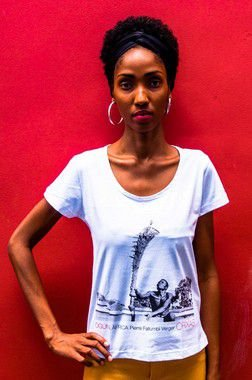 Camiseta Baby Look  Ogun