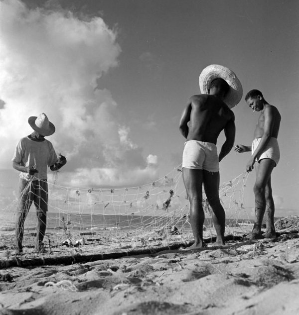 Pêche, Itapuã, Salvador, Brasil (1946 - 1947)