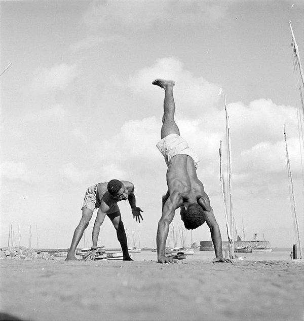 Capoeira, Salvador, Brasil [1946 - 1948]