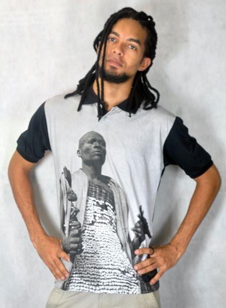 Camiseta Polo xangô