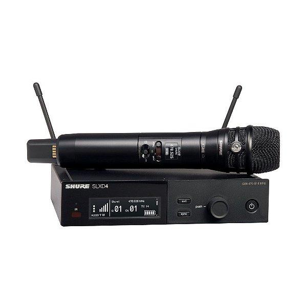 Sistema sem fio com transmissor de mao KSM8 Dualdyne - SLXD24/K8B-G58 - Shure
