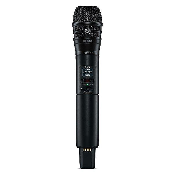 Microfone transmissor de mao sem fio - SLXD2/K8B-G58 - Shure
