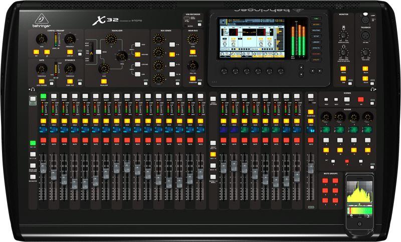 Mixer digital de 32 Canais Bi-Volt - X32 - Behringer
