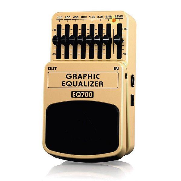 Pedal para guitarra - EQ700 - Behringer