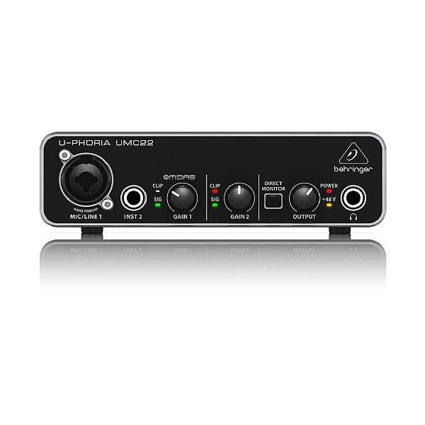 Interface de audio - UMC22 - Behringer