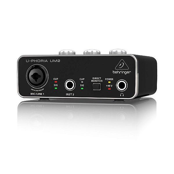 Interface de audio - UM2 - Behringer