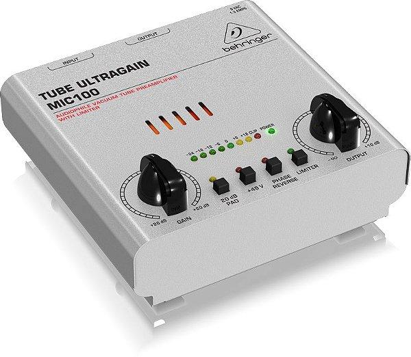 Preamplificador para microfones MIC100 - Behringer