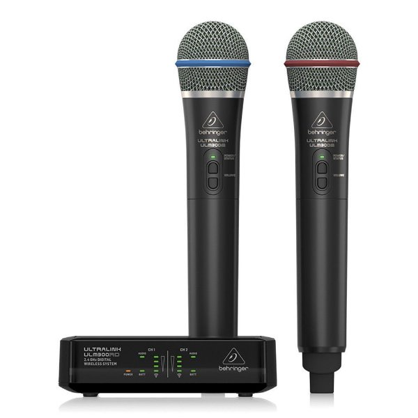 Microfone sem fio digital 2.4Ghz - ULM302MIC - Behringer