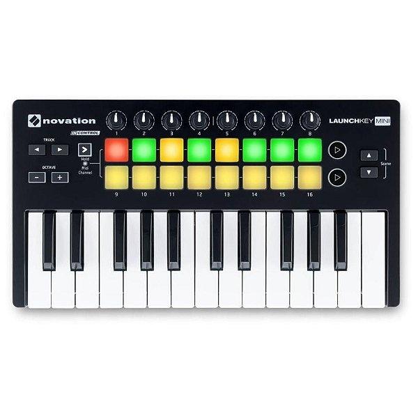 Controlador MIDI USB Novation Launchkey Mini MK3
