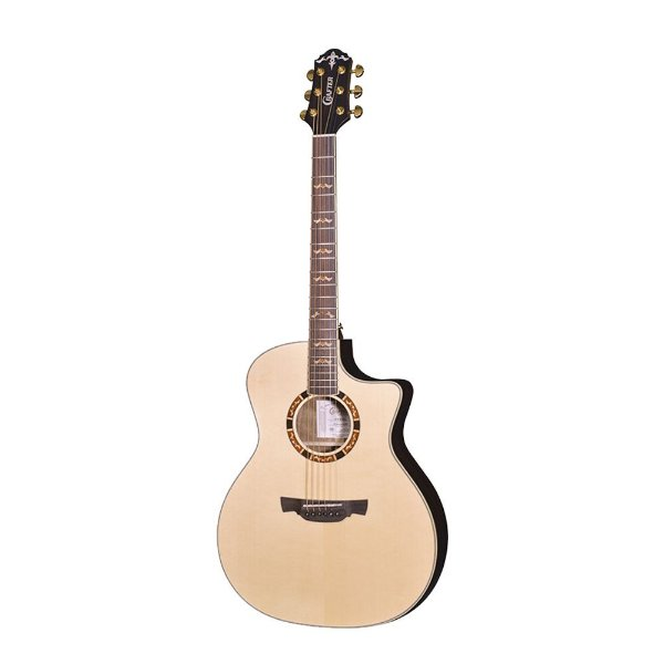 Violao G.audit. Cutaway T/solid Spruce B/s Rosewood Eq.lr-t-dx Gloss Bag Stg G-20ce Crafter
