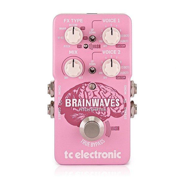 Brainwaves Pitch Shifter - Pedal processador de efeitos - TC Electronics