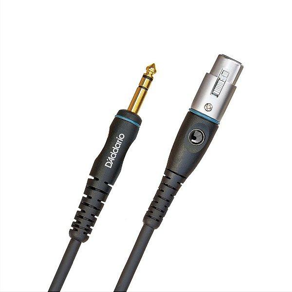Cabo Para Microfone Custom Series 7.62m D'Addario PW-GM-25