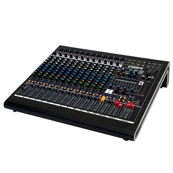 Mesa de som de 12 canais com efeitos e interface de gravacao - DM12 USB - DBR