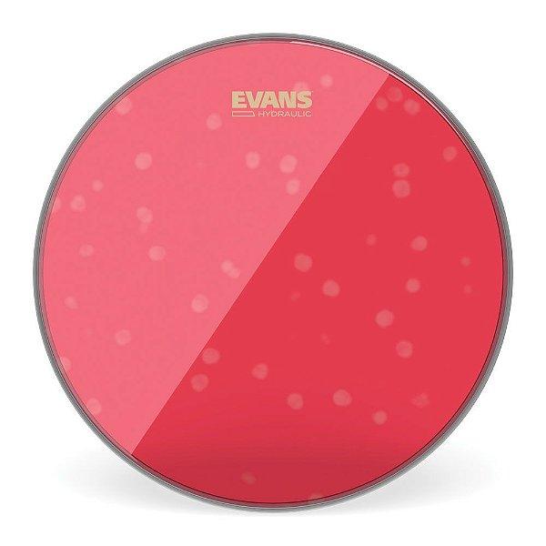 """Pele Para Caixa \u002f Tom Hidraulica Vermelha 12"""" Evans TT12HR"""