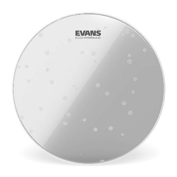 """Pele Para Bumbo Hidraulica Transparente 22"""" Evans BD22HG"""