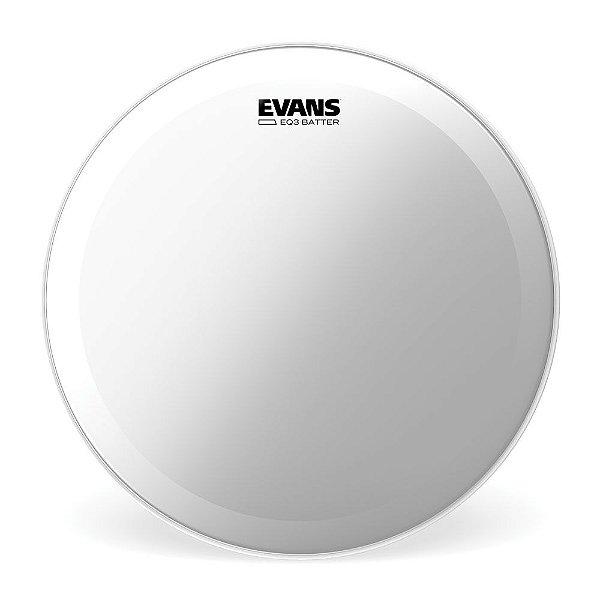 """Pele para Bumbo EQ3 Transparente 20"""" Evans BD20GB3"""