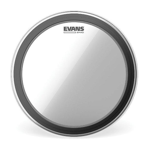 Pele Para Bumbo Emad Transparente 20' Evans BD20EMAD