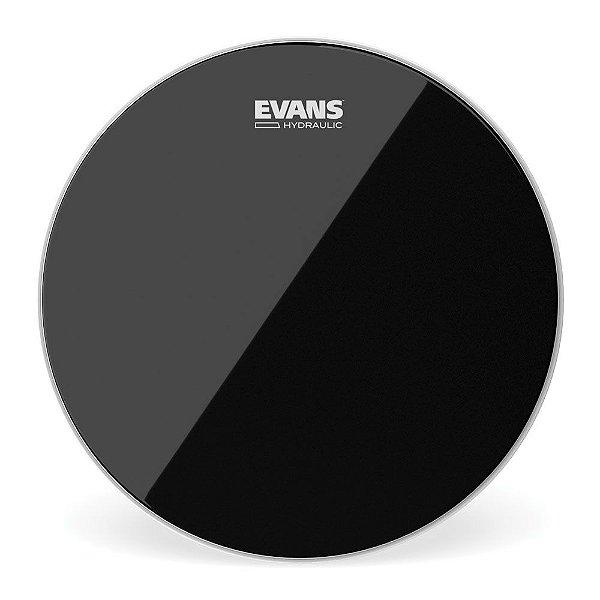 """Pele Para Caixa \u002f Tom Hidraulica Preta 10"""" Evans TT10HBG"""