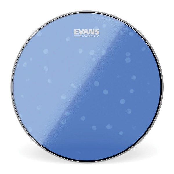 """Pele Para Caixa \u002f Tom Hidraulica Azul 12"""" Evans TT12HB"""