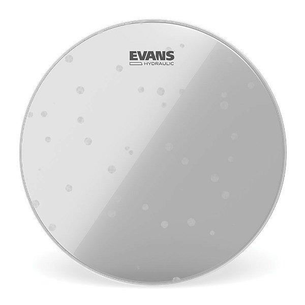 """Pele Para Caixa \u002f Tom Hidraulica Transparente 12"""" Evans TT12HG"""